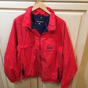 Vintage 80s helly hansen windbreaker jacket m